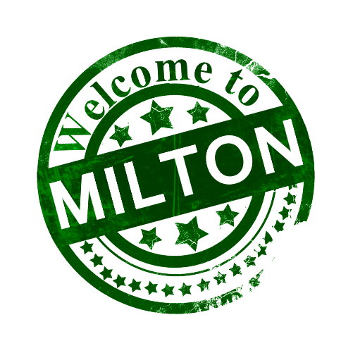 milton badge